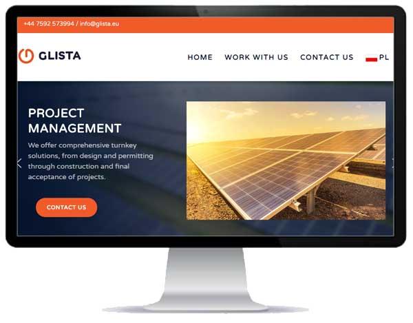 portfolio stron internetowych / glista.eu