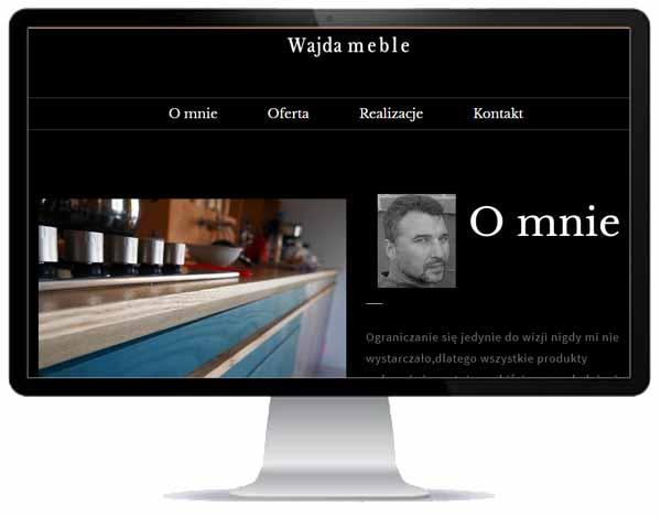 przykład realizacji strony - Wajda Meble - Szczedrzyk