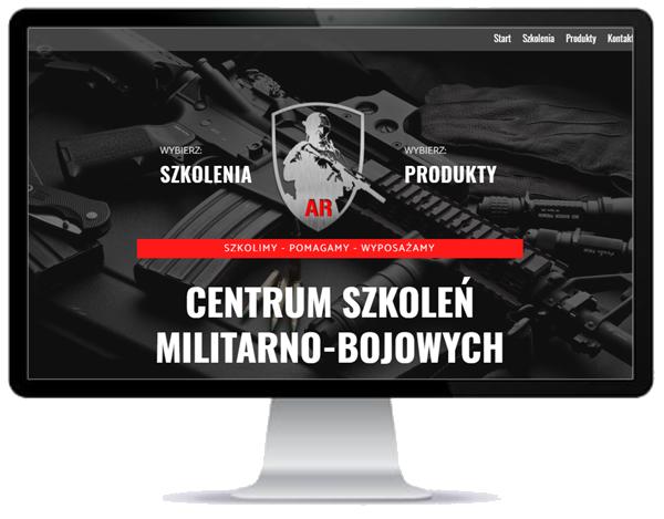 centrum szkoleń militarnych - strona www - opole