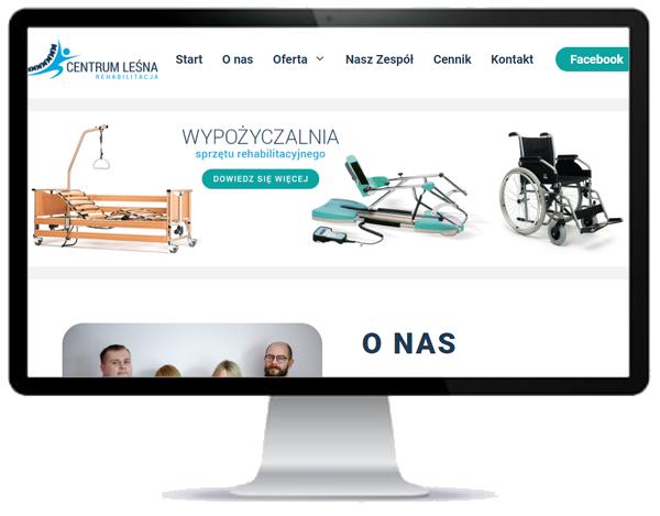 rehabilitacja - wykonanie strony www