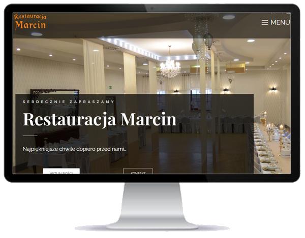 Restauracja MARCIN - nowa WWW